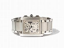 Cartier Tank Francaise Men's Watch, Switzerland, circa 2000