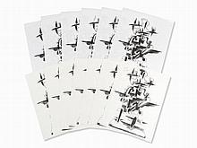 O.Zadkine, Merveilleux Radeau, Set of 13 Lithographs, 1966/74