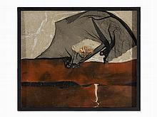 Horst Egon Kalinowski, Foc de Caron, Collage, 1961