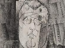 Louis Marcoussis, Guillaume Apollinaire, Etching, 1912-20