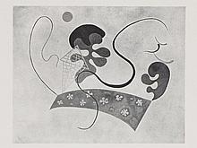 Wassily Kandinsky, 11 Plates and 7 Poems, Book, 1945