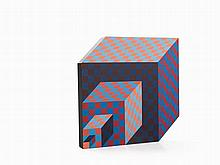 Victor Vasarely, Felhoe, Standing Object, Multiple,1989