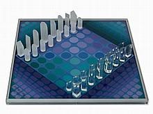 Victor Vasarely, Chess Game, Multiple, 1982