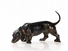 Vienna Bronze 'Charming Dachshund', around 1930