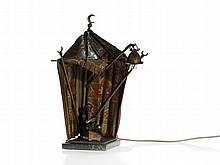 Bergmann Vienna Bronze, Illuminated Big Bedouin Tent, c. 1920