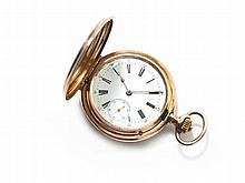 J.J. Badollet, Double Hunter Pocket Watch, Switzerland, c. 1880