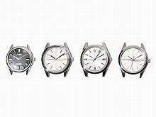 Citizen, Four Vintage Watch Cases, Japan c. 1970
