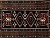 Antique Kazak Rug with Richly Coloured Pattern, 20th Century