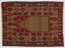 Turkish prayer kilim