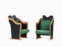 Bořek Šípek, 2 'Pro J.P. Easy Chairs' (Wittmann Chair 2), 1992