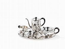 Bruckmann & Söhne, Art Deco Tea and Coffee Set, c. 1930