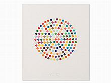 Damien Hirst, Cephalothin, Etching in Colors, 2007