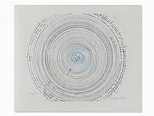 Damien Hirst, The Twist, Etching in Colors, 2002