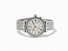 Longines Lindbergh Hour Angle Wristwatch, Switzerland, C. 1997