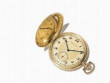 DUF OLIW Gold Hunter Watch, Germany, Around 1906