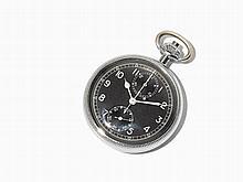 Breitling 605 A Military Pocket Watch Chronograph, Around 1962