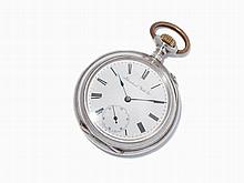 IWC Silver Pocket Watch, Switzerland, Around 1890