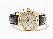 Vulcain Cricket Gold Wristwatch, Switzerland, Around 1950