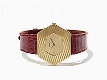 Piaget Hexagon Wristwatch, Switzerland, Around 1980