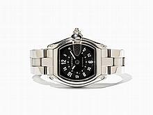 Cartier Roadster Wristwatch, Ref. 2510, Around 2002