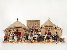 Schoenhut, Museum Quality Humpty Dumpty Circus, USA, 1920s