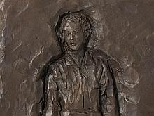 Stephan Balkenhol, from 'Schmerztransformationen', Bronze, 2003