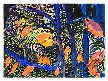 Hunt Slonem (b. 1951), Watercolor, 1989