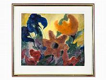 Paul Herbert Beck, Flowers, Watercolor, 2nd H. 20th C.