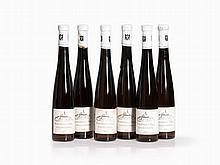 6 Half Bottles 1992 Schlossgut Diel Riesling Eiswein, Nahe