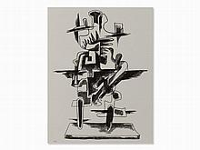 Ossip Zadkine, Le Merveilleux Radeau, Lithograph, 1966
