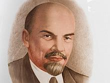 Floor Vase with Lenin Portrait, Leningrad, 1918/23