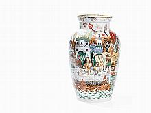 Baluster Vase with Depictions of Russian Folktales, 1992