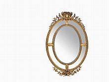 Neoclassical Mirror, France, 1st H. 20th C.