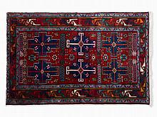 Kasak, Rug with Intense Colors, Russia, c. 1980