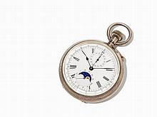 Ascot Pocket Watch Chronograph, Switzerland, Around 1897