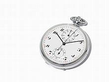 Excelsior Park Pocket Watch Chronograph, Around 1923