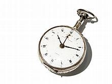 Eardley Norton Silver Pocket Watch, England, Around 1780