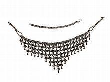 Silver Necklace & Bracelet, Southern Arabian Peninsula, 20th C