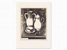 Alexander Kanoldt (1881-1939), Still Life with Jugs, 1922