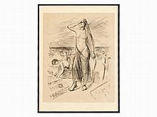 Max Liebermann (1847-1935), 'Den Müttern der Zwölftausend' 1924
