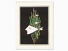 Georges Braque (1882-1963), Métamorphoses 13, around 1980