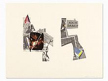 """Martin Kippenberger (1953-1997), Collage """"Auch Dabei?"""