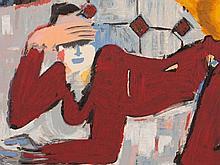 Elvira Bach (b. 1951), Terragraph, Teapot, Germany, 2002