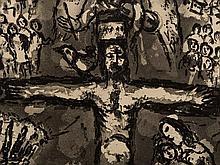 Marc Chagall (1887-1985), Aquatint, Vision d'Apokalypse, 1967