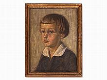 Julius Frick (1884-1964), Portrait of a Boy, Germany, c. 1920