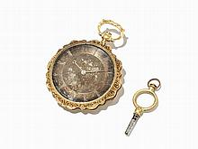Extra Flat Open Face Pocket Watch, Switzerland, c. 1880
