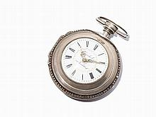 Krumhuber Spindle Pocket Watch with Protective Case, c. 1790
