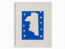 Henri Matisse, Monsieur Loyal from 'Jazz', Stencil, 1947
