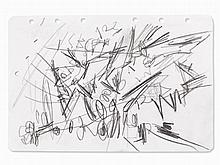 Emilio Vedova (1919-2006), Composition II, Drawing, 1962