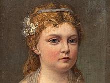 Vigée-Lebrun, Workshop, Portrait of a Young Girl, circa 1800